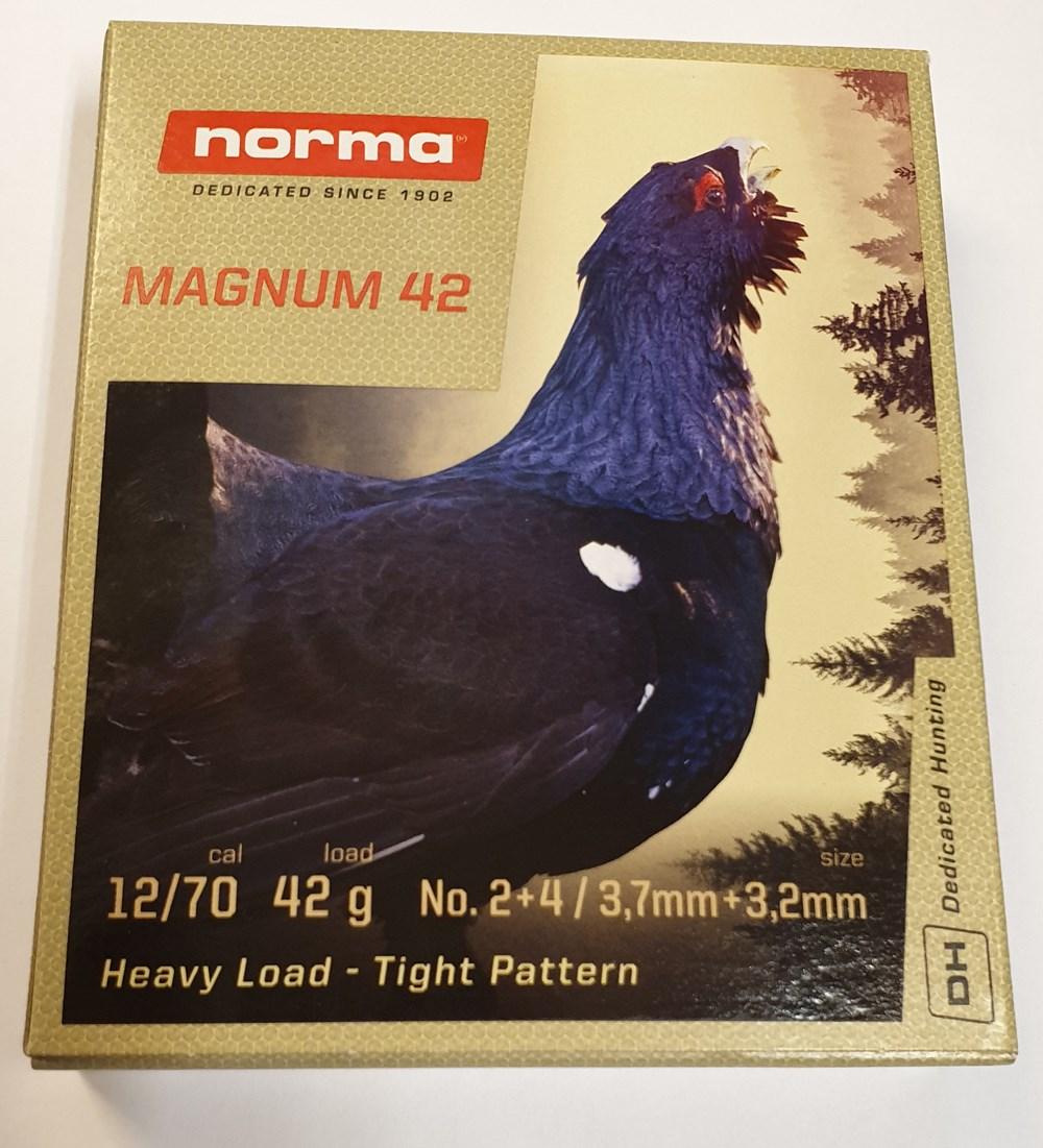 Norma Magnum Duplex 42g 12/70 No2+4
