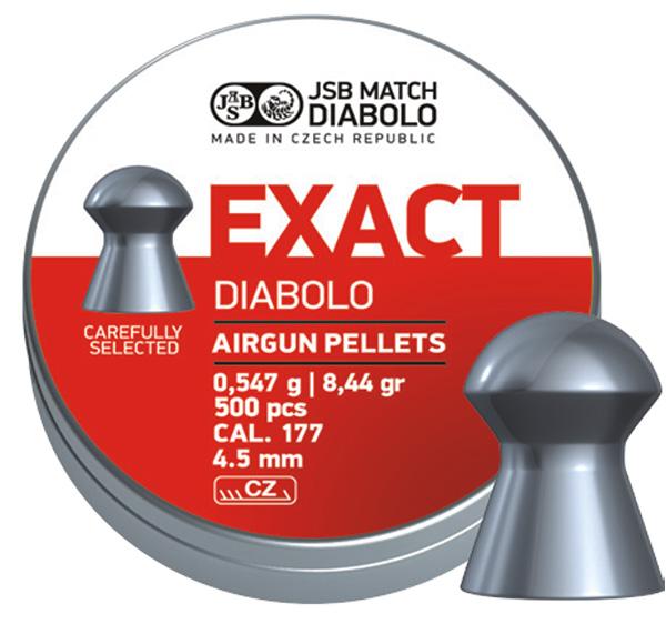 JSB Exact, 4,5mm - 0,547g