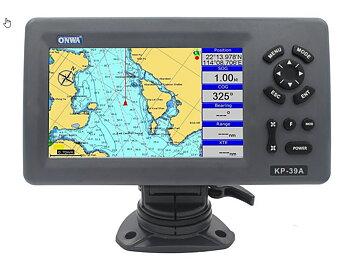 """KP-39A 7"""" Plotter med inbyggd AIS-transponder från Onwa"""