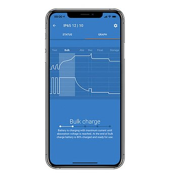 Blue Smart IP65 12V batteriladdare med bluetooth