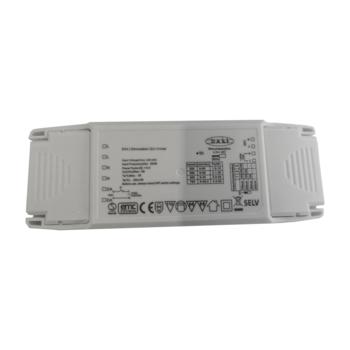Multidriver 20W 250-700mA, DALI, Push, 1-10V