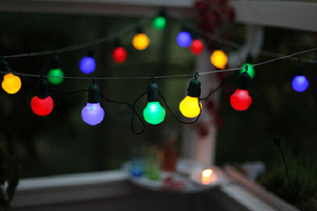 STAR TRADING LED Partyslinga 20 ljus 0,7W RGB