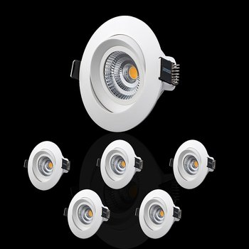 DESIGNLIGHT MPT-306MW 7,4W 3000K 6-pack