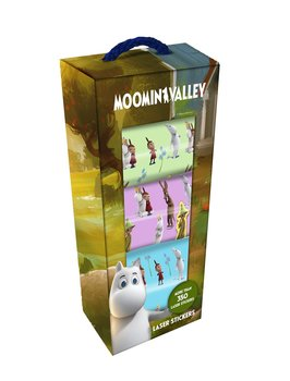Moomin laser stickers, Moomin Valley