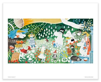 Moomin mini poster - The Dangerous Journey