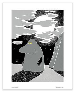 Moomin mini poster - Groke