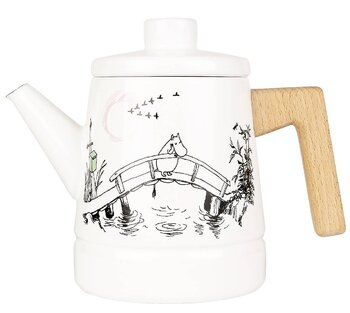 Moomin enamel teapot 1,6 l - Missing you