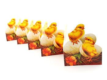 Pappersrader Kyckling på Ägg