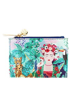 Frida Kahlo Tropical Zip Purse