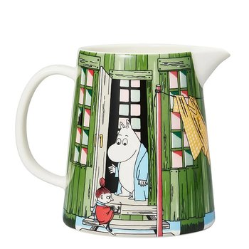 Arabia Moomin Bath House Pitcher 1 L