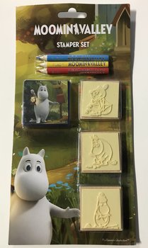 Moomin stamper set, Moomin Valley