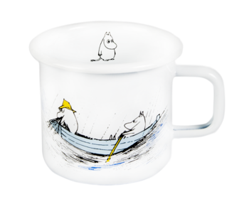 Moomin enamel mug 3,7 dl - Originals - Gone Fishing