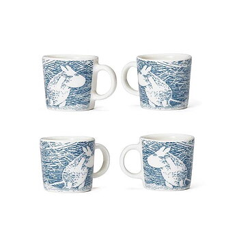 Arabia Moomin Minimugs - Snow Blizzard, winter 2020