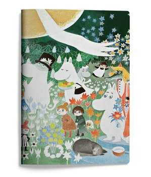 Moomin softcover notebook - The Dangerous Journey