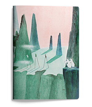 Moomin softcover notebook - Comet in Moominland