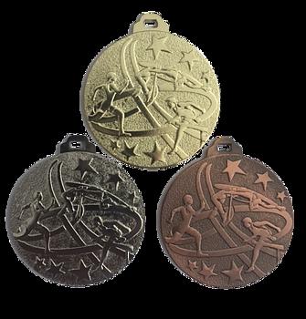 Friidrott medalj 50 mm
