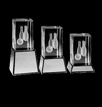 Bowling 3D glas