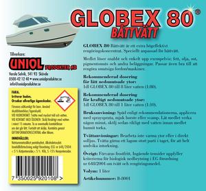 Globex 80 Båttvätt 1 Liter