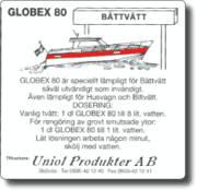 Globex 80 Båttvätt 2,5 Liter
