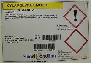 Long-Life, ofärgad Multiglykol 25L