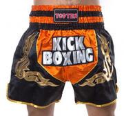 Topten Kickboxing Neon Thaishorts