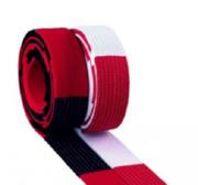 Block bälte Deluxe, 5 - 5,5 cm