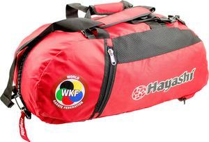 Hayashi WKF Gymbag/Ryggsäck, Röd Medium