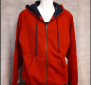 MacOne  Hood, Röd Large