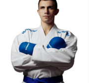 "WKF Karategi Hayashi ""Champion Flexz"" K1 FLEXZ Blå"