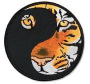 Broderat Märke, Tiger Yin Yang