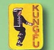 Broderat Märke Kung-fu
