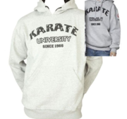 "Hayashi ""Karate University"" Hood, Grå XL"