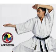 WKF Hayashi Tenno Karate Kata Jacka Vit, 160 cm