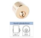 Assa Cylinder 711 rund utsida