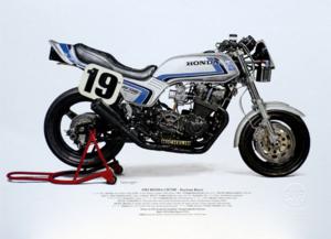 Marving Avgassystem 4-1 Racing Honda CB750F, CB900F