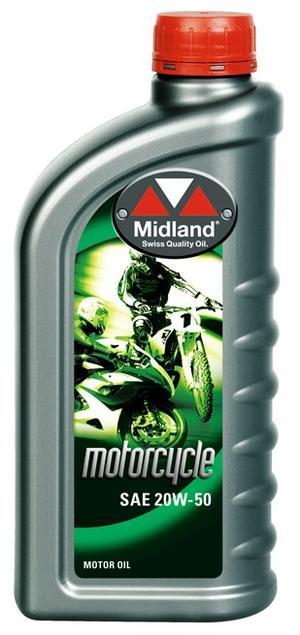 Midland 20W-50 MC olja Mineral 1 liter 21717