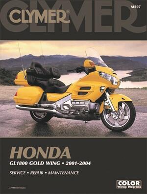 Clymer Honda GL1800 Rep.handbok M507