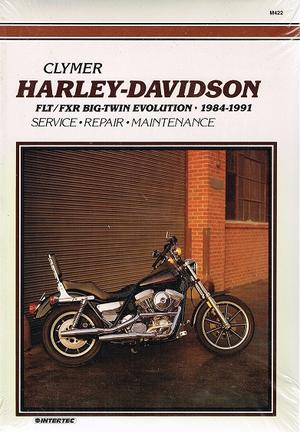 Clymer Harley-Davidson FX/FL Softail Big-Twin Evolution 1984-91 Reparationshandbok M421