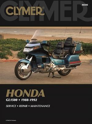 Clymer Honda GL1500 1988-92 Rep.handbok (M505)