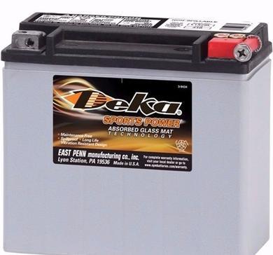 Batteri ETX20L-BS Deka  Buell, H-D, Honda, Kawasaki, Triumph, Yamaha