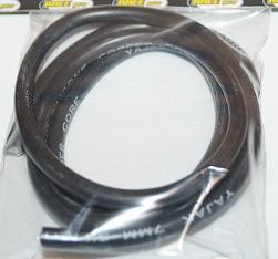 Tändkabel Svart 7 mm Silicon  1 m   103808A1
