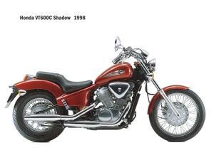 RESERVDELAR Honda VT600 C Shadow