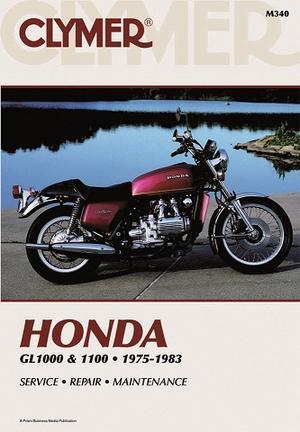 Clymer Honda GL1000-1100 Goldwing 1975-83 Rep.Handbok (M340)