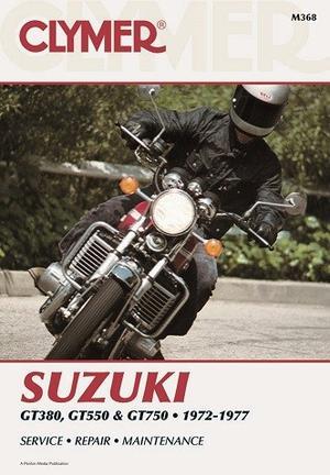 Clymer Suzuki GT380, GT550, GT750 1972-77  Rep. Handbok (M368)