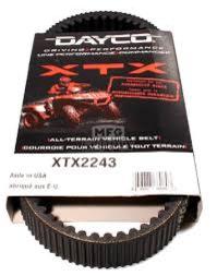 XTX2243 Dayco Drivrem-Variatorrem 29x847 Arctic Cat - Kawasaki - Kymco ATV