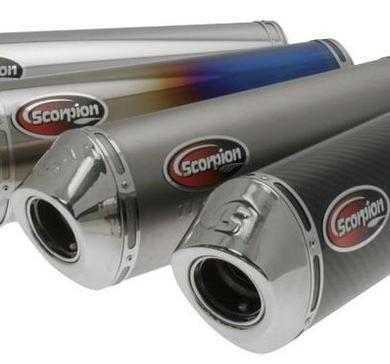SCORPION Avgassystem - Ljuddämpare till flera Se Avgasssystem