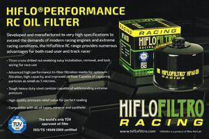 HF160RC Oljefilter Hi-Flo Racing BMW