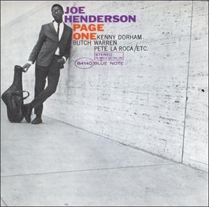 Joe Henderson-Page One / Blue Note