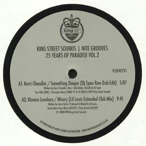 Va - 25 Years Of Paradise Vol 2 /  King Street