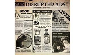 Oh No-Disrupted Ads (+ 7inch) / KASHROC
